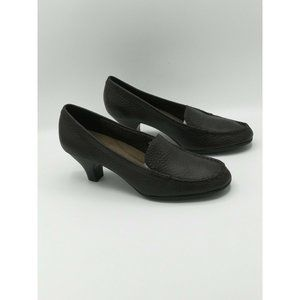 Aerosoles Wise Choice Loafer Dress Heel Leather